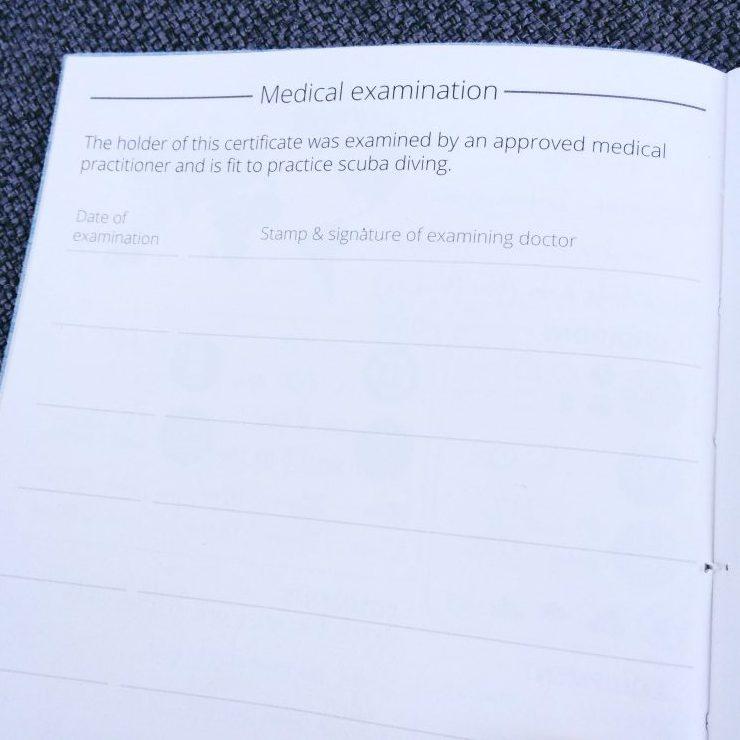 Medical examination page